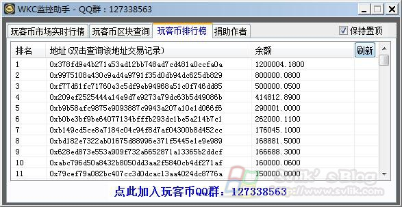 WKC玩客币监控助手 工具下载分享