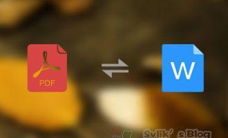 PDF转Word软件:PDF2Word 汉化免费版